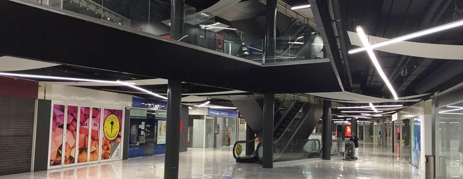 Centro comercial paddock, proyecto realizado por la ingeniería de Barcelona OTP Global Engineering