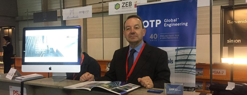 Jaume Perna, fundador d´OTP Global Engineering a la fira contrumat