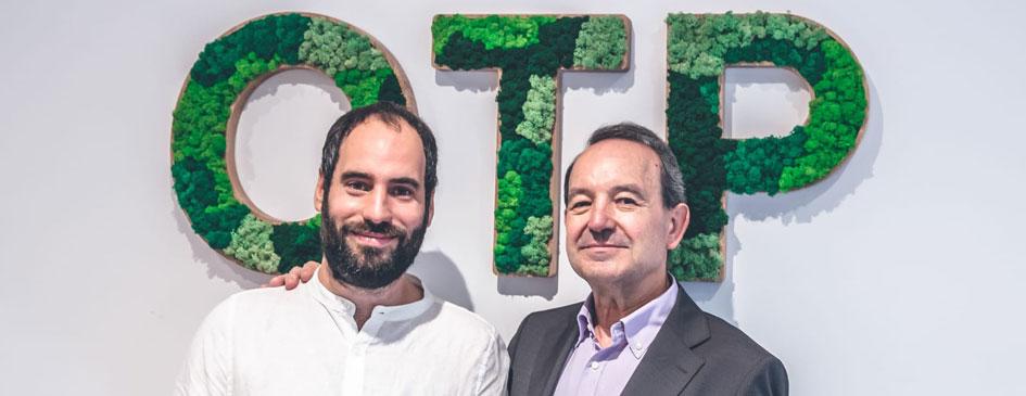 Jaume y Oriol Perna de OTP global engineerin, ingenieria con 40 años proyectando para las personas