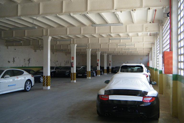 Centre Porsche Ibercarrera