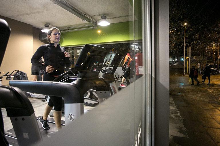 Snap Fitness de la calle  Nicaragua de Barcelona