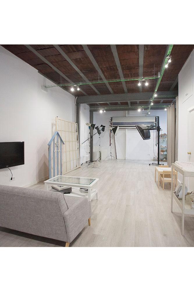 Estudi de fotografia de laura espadalé, projecte realitzat per l´enginyeria de Barcelona OTP