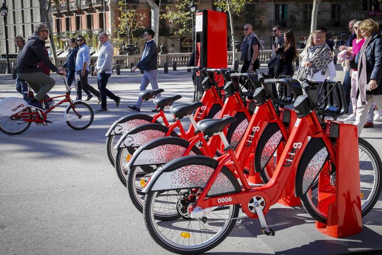 Magatzem logístic de l´empresa Bicing projecte realitzat per l´enginyeria de Barcelona OTP
