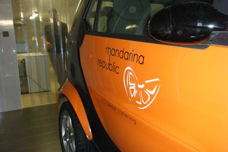 Mandarina republic, empresa de càtering