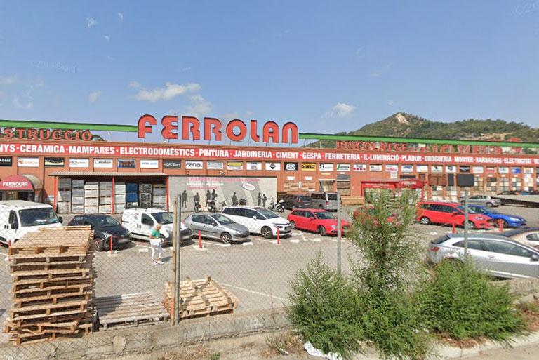 comercio mayorista de materiales de construcción en Barcelona, la ingeniería de barcelona OTP ha relizado los proyectos.