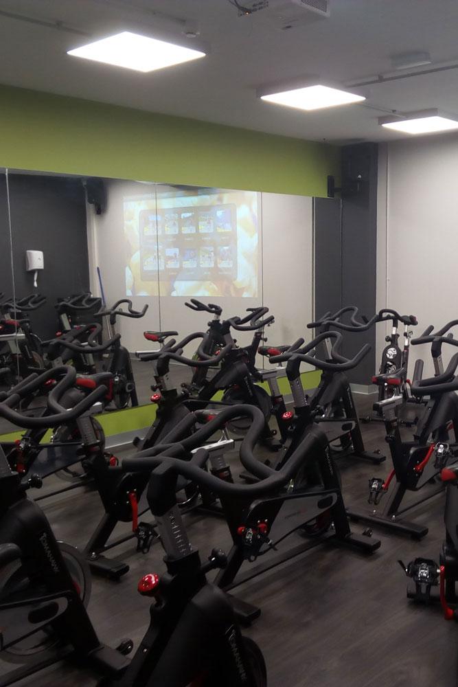 Bicicletas estàticas anytime fitness