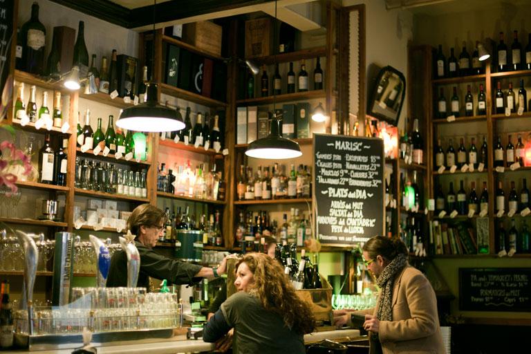 Bar Mut  de Barcelona, proyecto de ingenieria por OTP