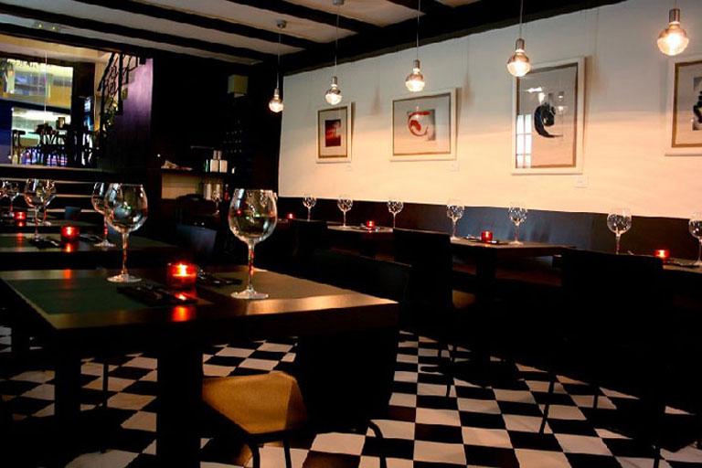 Restaurant Hendrix del barri de Gràcia de Barcelona