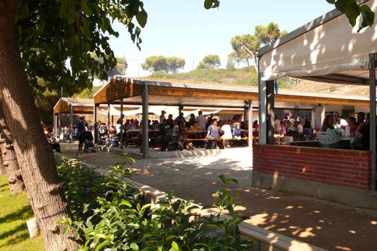Les terrrasses park&grill de Santa Coloma de Gramenet