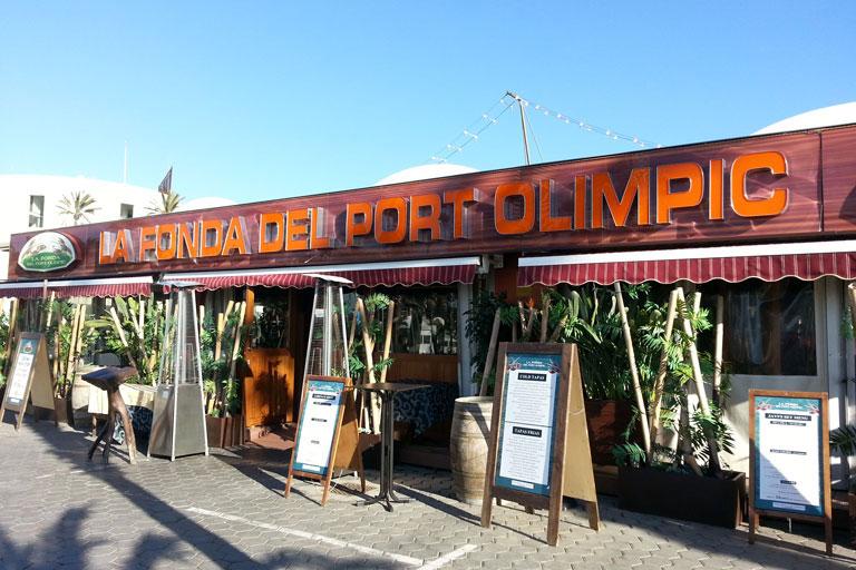 Restaurant La Fonda del port Olímpic projecte realitzat per OTP Enginyeria