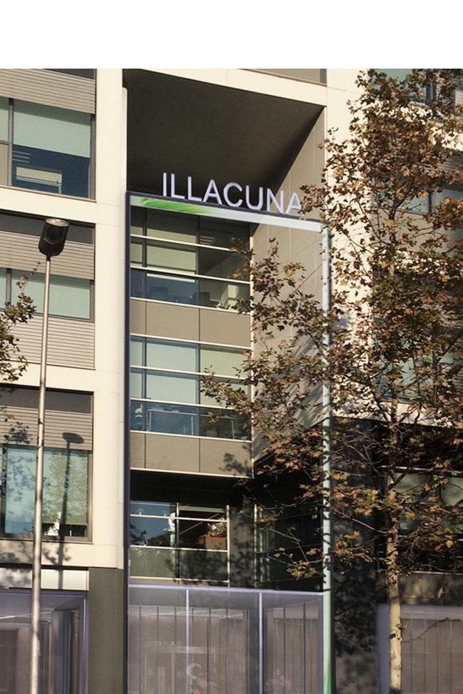 Reforma del vestíbul edifici illacuna projecte realtizat per l´enginyeria de Barcelona OTP