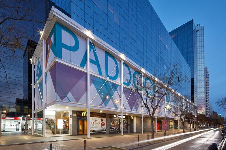 Planta del centre comercial Paddock de Sabadell