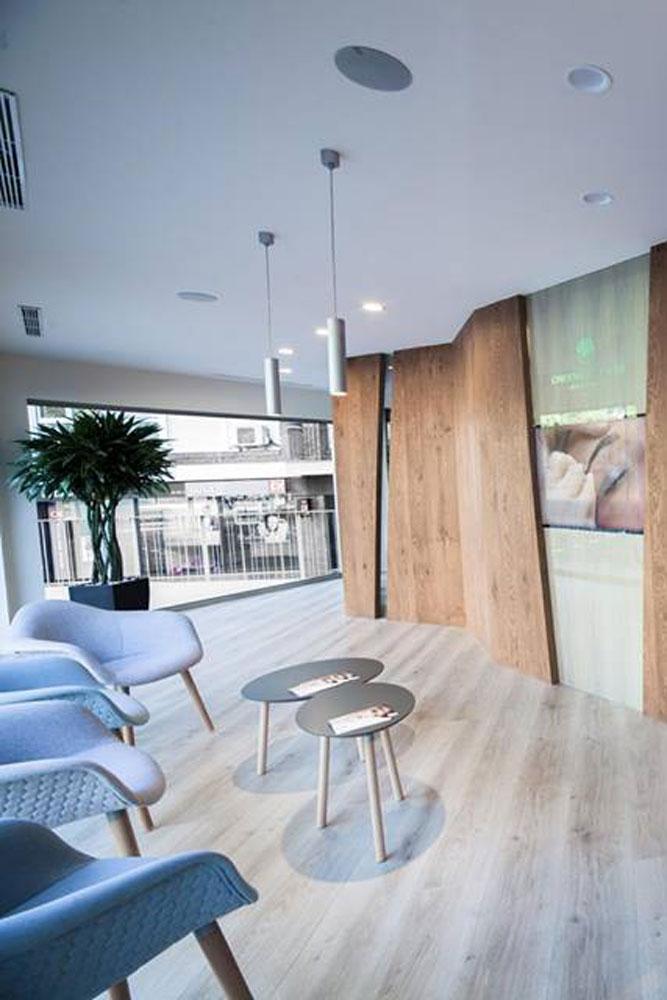 Nova clínica Carolina de la Rosa situada a la Ronda del General Mitre de Barcelona.  Projecte realitzat per OTP Global Engineering.