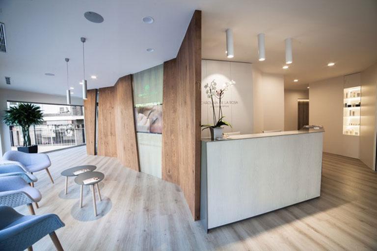 Nueva clínica Carolina de la Rosa situada en la Ronda del General Mitre de Barcelona. Proyecto realizado por OTP Global Engineering.t.