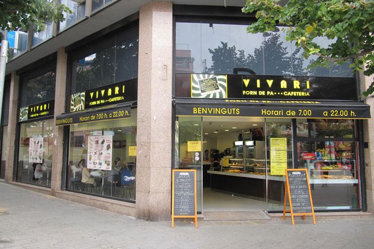 Cafeteria Vivari de Santa Coloma de Gramenet
