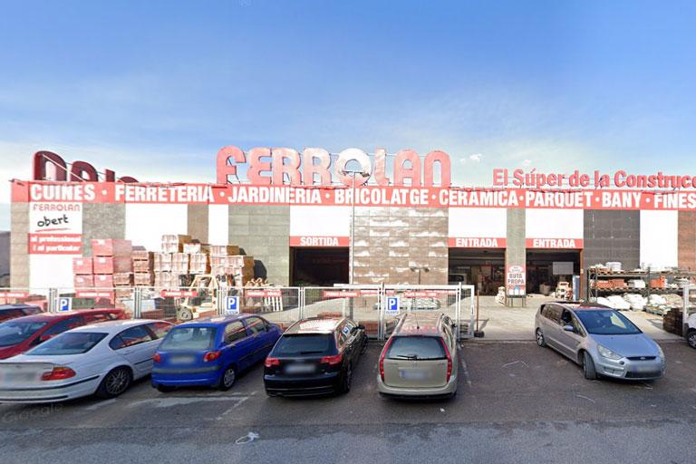 comercio mayorista de materiales de construcción en Rubí, la ingeniería de barcelona OTP ha relizado los proyectos.