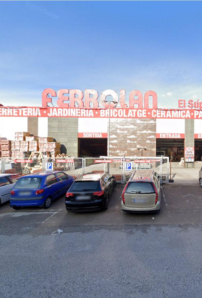 comerç majorista de materials de construcció a Rubí, l'enginyeria de barcelona OTP ha relitzat els projectes.