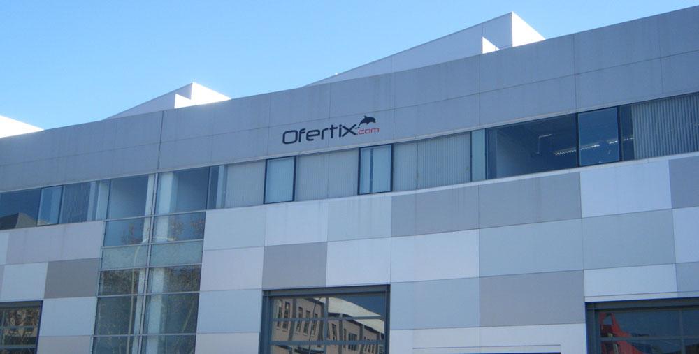 Edifici del club de venda privada Ofertix