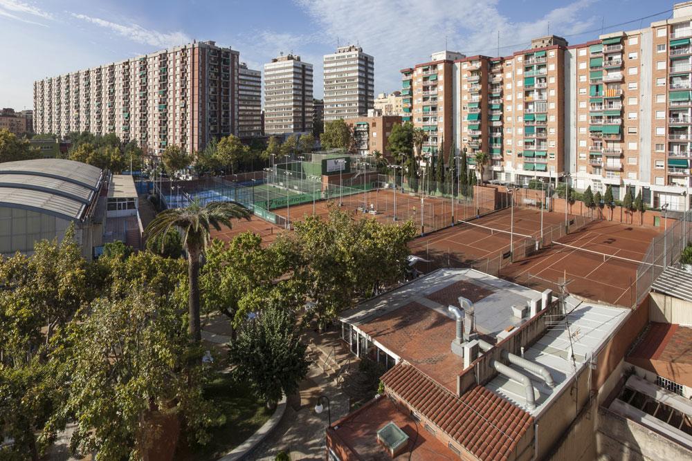 Vista panoràmica Club Natació Sant Andreu