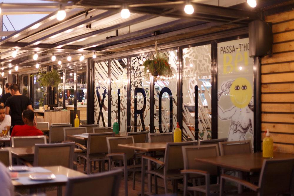 Xiroi ca la nuri, restaurant  en el  passeig marítim de Barcelona