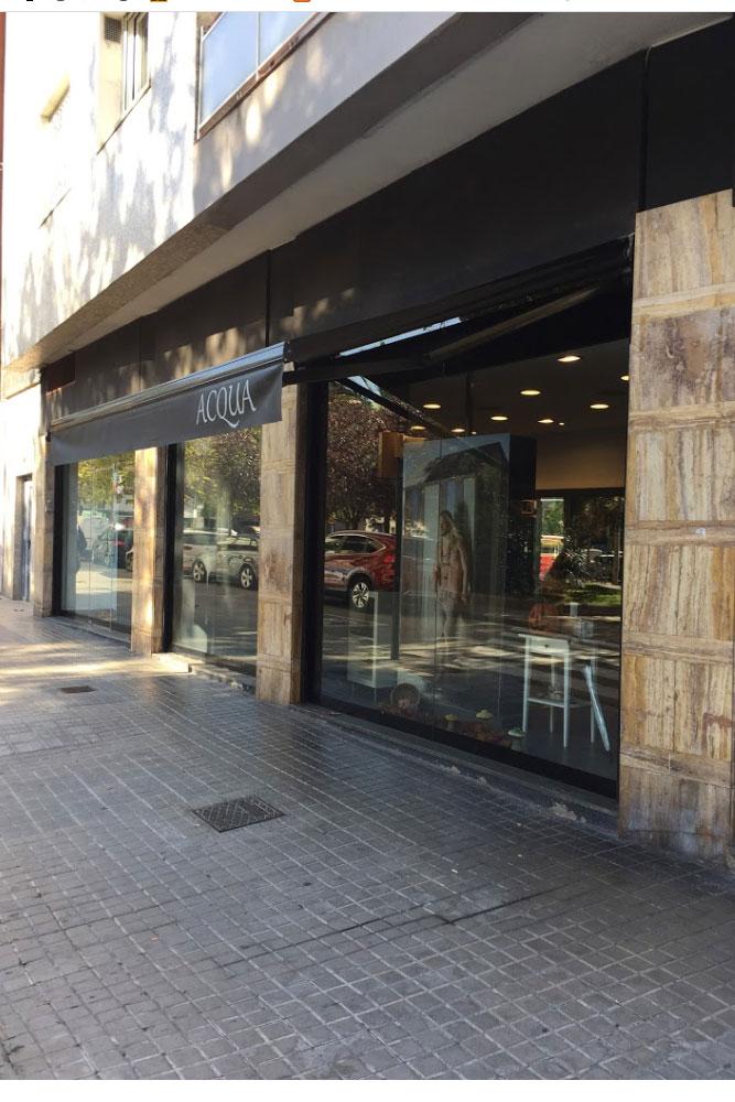 Acqua perruqueria al barri de les Corts de Barcelona, projecte realitzat per l´enginyeria de Barcelona OTP Global Engineering