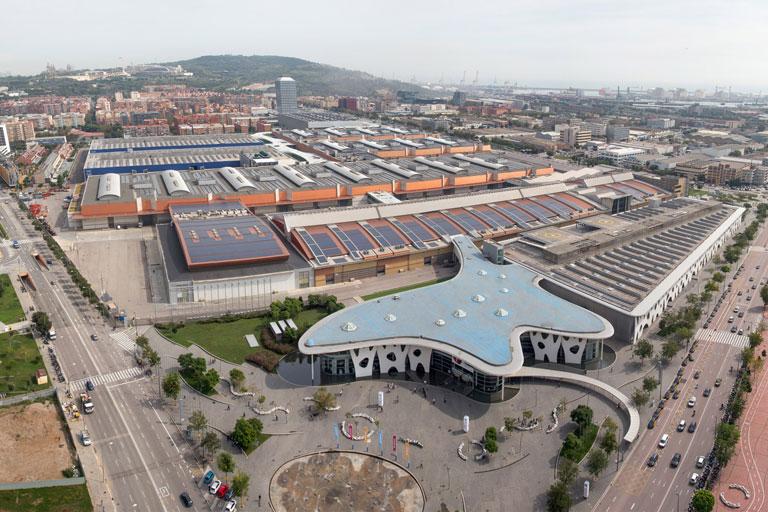 Fira de Barcelona , pavello annex II projectat per OTP Global Engineering