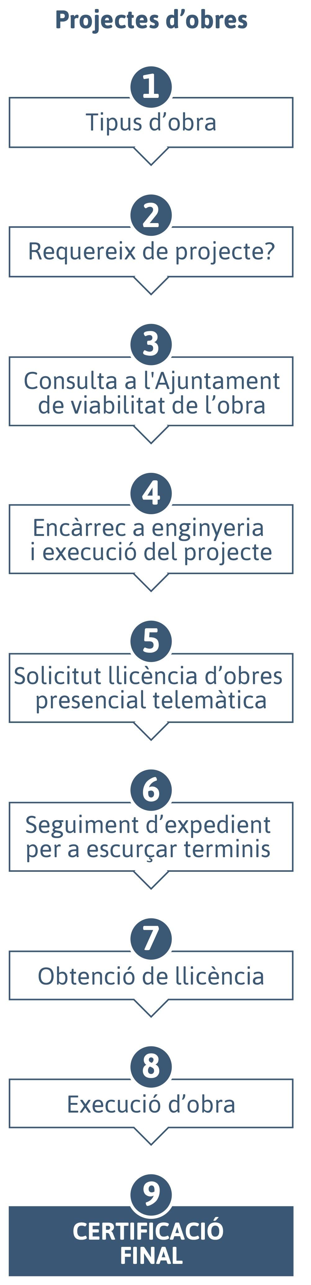 Projectes d'obres
